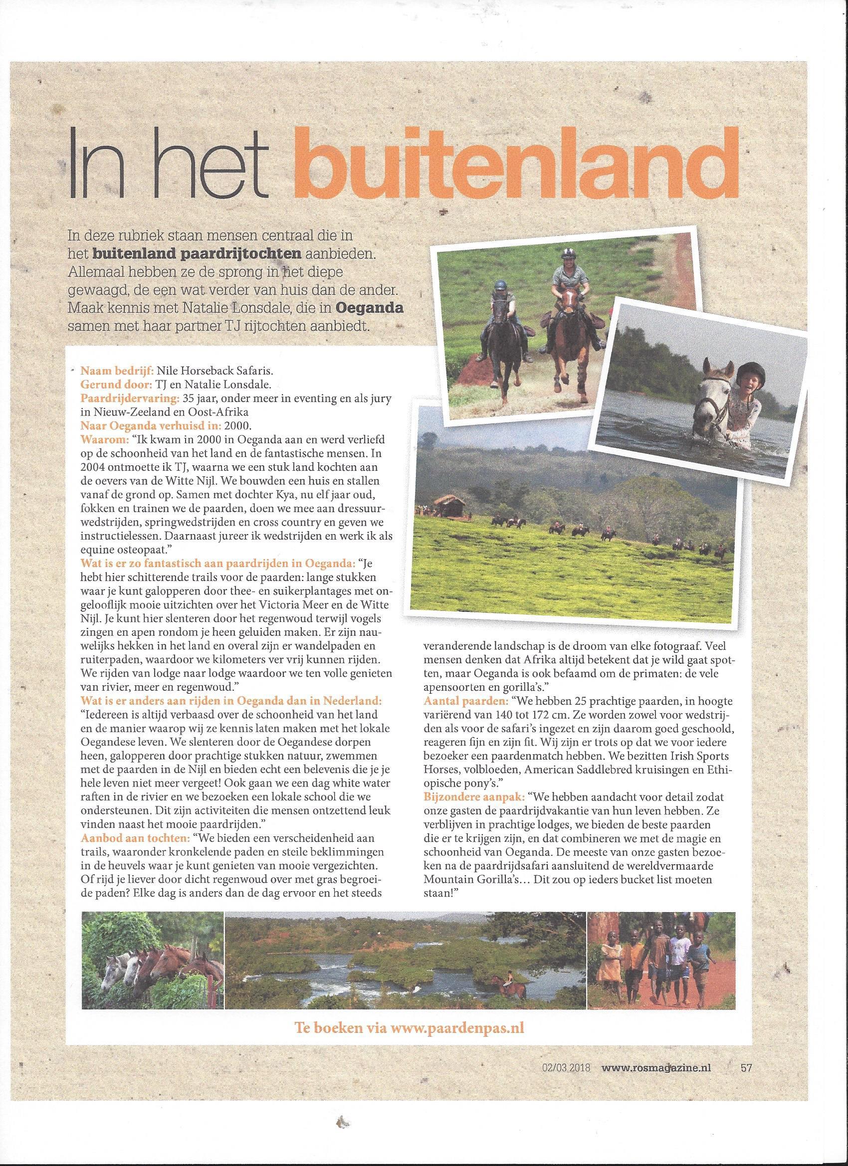 ROS Magazine - Oeganda