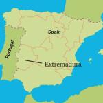 Extremadura-locator-map