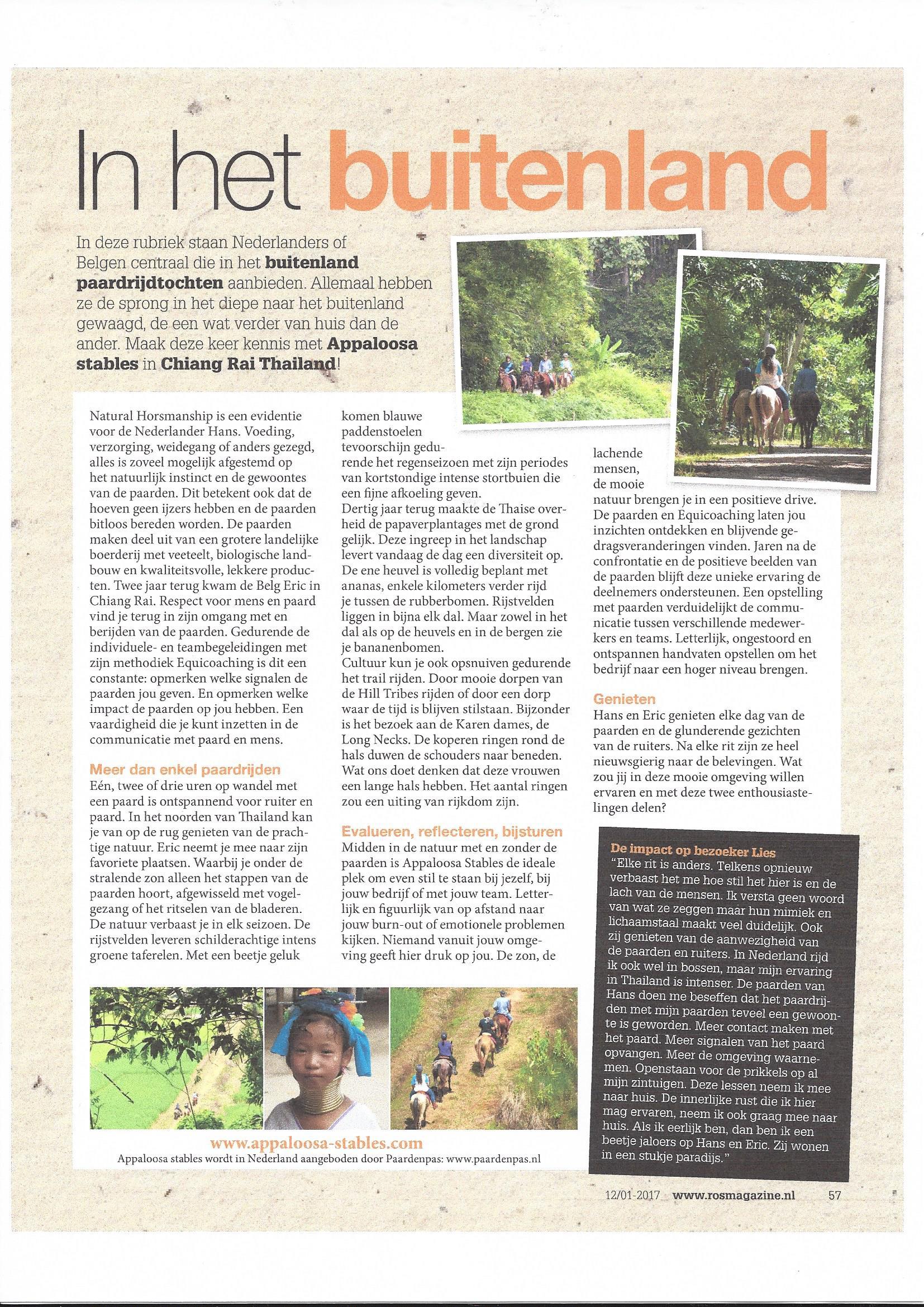 ROs Magazine Thailand Chiang Rai