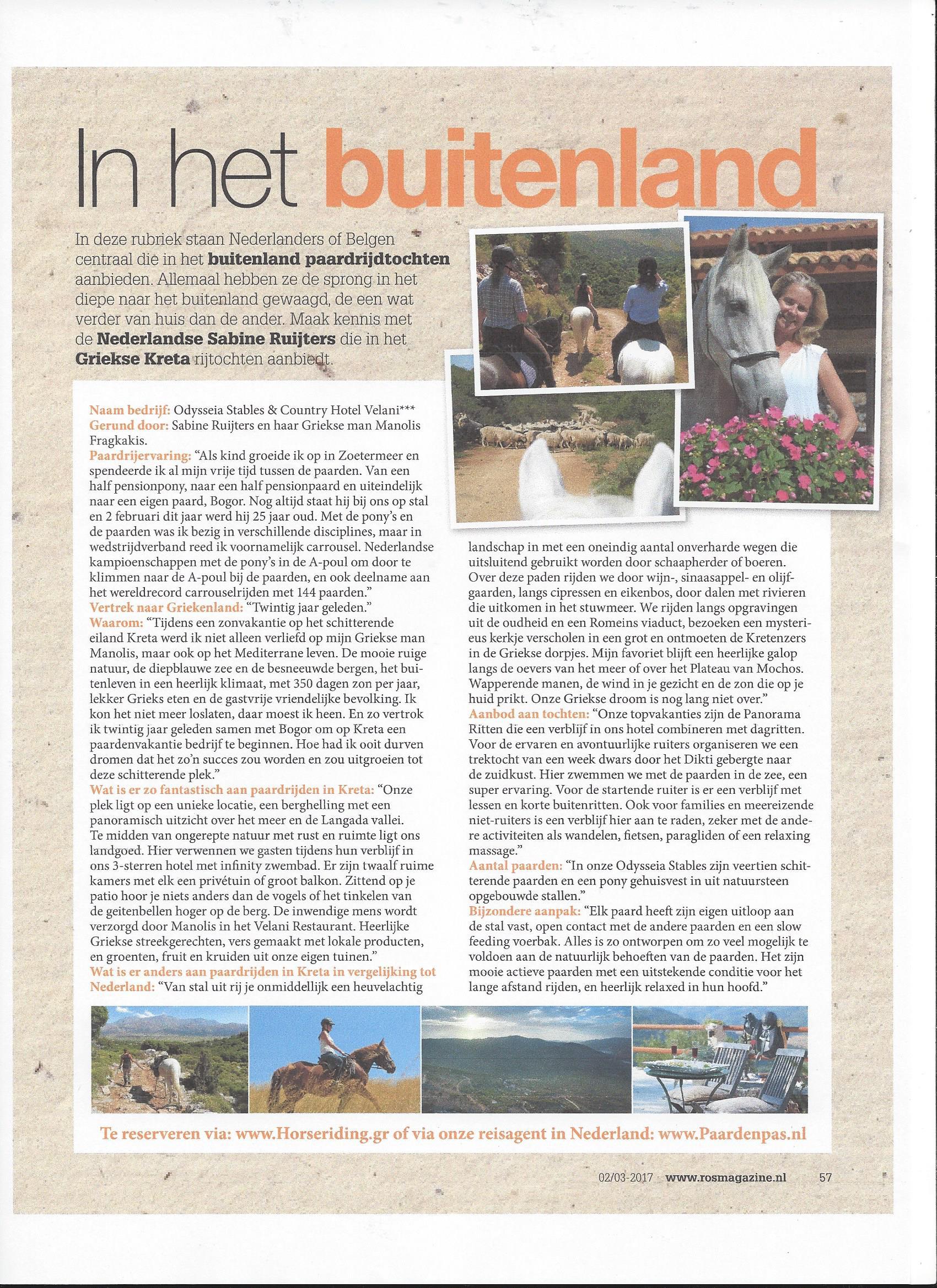 ROS Magazine - Kreta