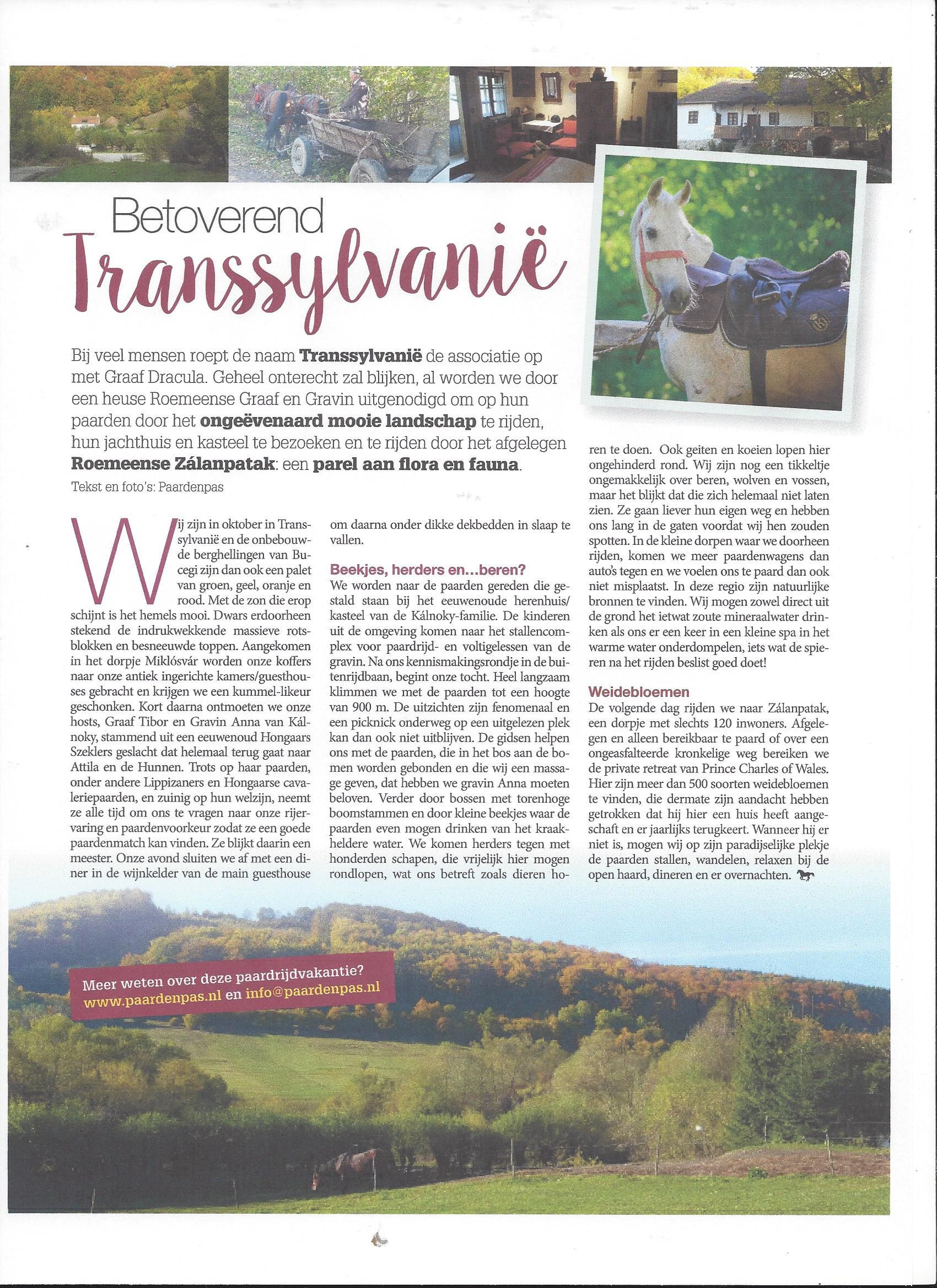 ROS Magazine - Betoverend Transsylvanië JPG
